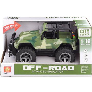 Jeep vojenský na baterie (8592386056624)