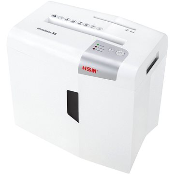 HSM ShredStar X5 bílý (4026631057721) + ZDARMA Poukaz Elektronický dárkový poukaz Alza.cz na nákup zboží v hodnotě 100Kč - platnost do 30.4.2018