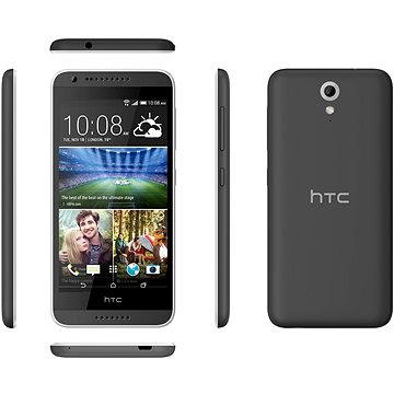 HTC Desire 620G (A31MG) Matt Grey / Light Grey Trim Dual SIM (99HADC037-00)
