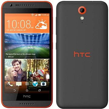HTC Desire 620G (A31MG) Matt Grey / Orange Trim Dual SIM