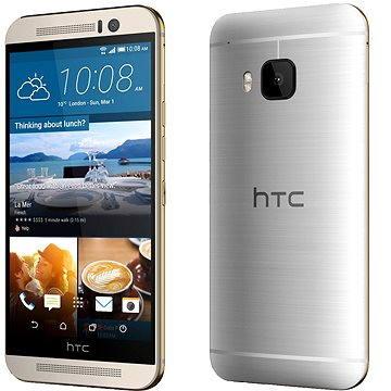 HTC One M9 Gold on Silver (99HADF083-00) + ZDARMA Power Bank Mobile Battery 2600 mAh Digitální předplatné Týden - roční