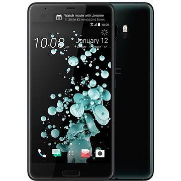 HTC U Ultra Brilliant Black (99HALT015-00) + ZDARMA Poukaz elektronický dárkový Alza.cz na nákup zboží v hodnotě 1000Kč platnost do 31.12.2017
