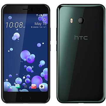 HTC U11 Brilliant Black (99HAMP032-00)