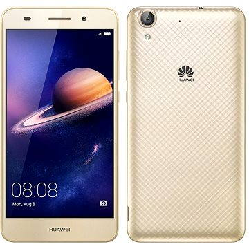 HUAWEI Y6 II Gold (SP-Y6IIDSGOM) + ZDARMA Power Bank Mobile Battery 2600 mAh