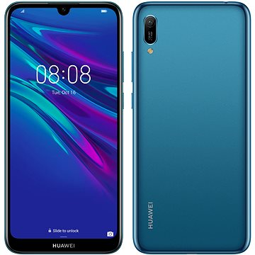 HUAWEI Y6 (2019) modrá (SP-Y619DSLOM)