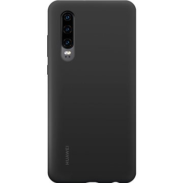 Huawei Original Silikonové Car Pouzdro Black pro P30 (51992844)