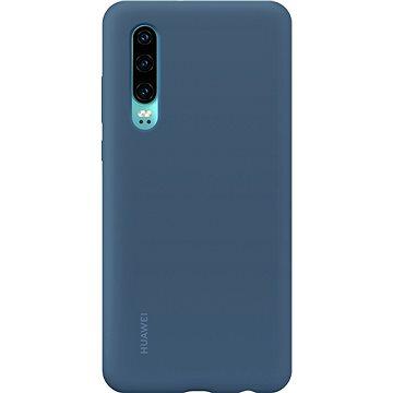 Huawei Original Silikonové Car Pouzdro Blue pro P30 (51992850)