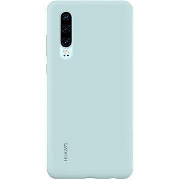 Huawei Original Silikonové Car Pouzdro Light Blue pro P30 (51992958)