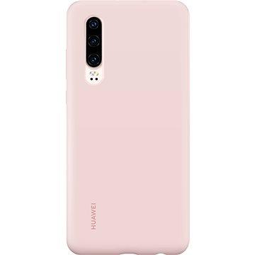 Huawei Original Silikonové Car Pouzdro Pink pro P30 (51992846)