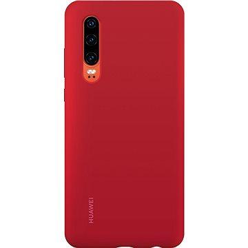 Huawei Original Silikonové Car Pouzdro Red pro P30 (51992848)