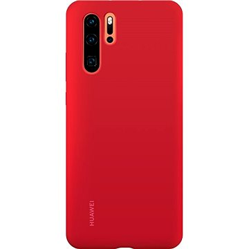 Huawei Original Silikonové Pouzdro Red pro P30 Pro (51992876)