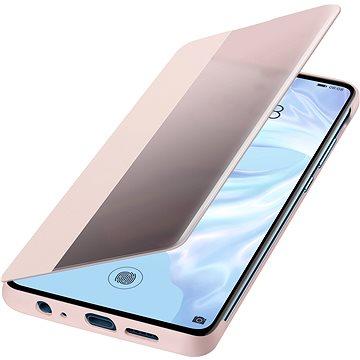 Huawei Original S-View Pouzdro Pink pro P30 (51992862)