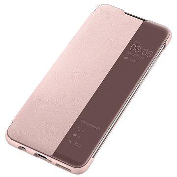 Huawei Original S-View Pouzdro Pink pro P30 Lite (51993078)