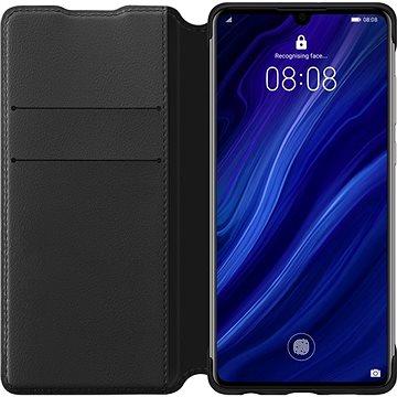 Huawei Original Wallet Pouzdro Black pro P30 Pro (51992866)