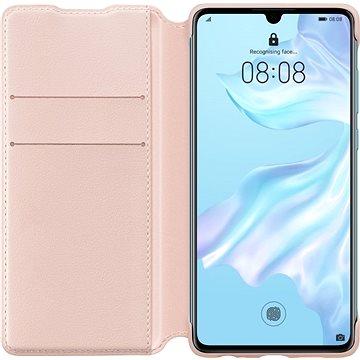 Huawei Original Wallet Pouzdro Pink pro P30 (51992856)