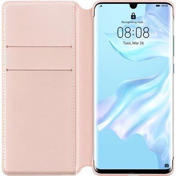 Huawei Original Wallet Pouzdro Pink pro P30 Pro (51992868)