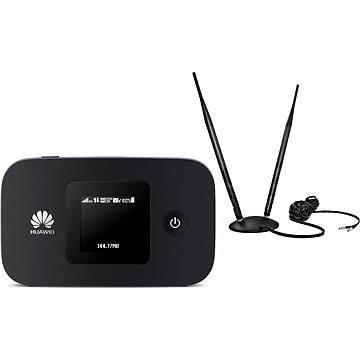 LTE WiFi modem HUAWEI E5377 + přenosná dvojitá anténa GSM/3G/LTE 7dB