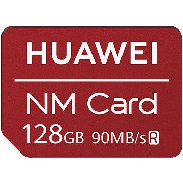 Huawei Original Nano Paměťová Karta Red 128GB (6010396)