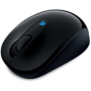 Microsoft Sculpt Mobile Mouse Wireless, černá (43U-00003)