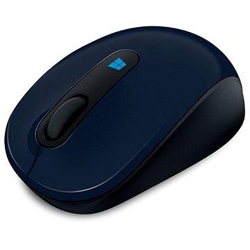 Microsoft Sculpt Mobile Mouse Wireless, modrá (43U-00013)