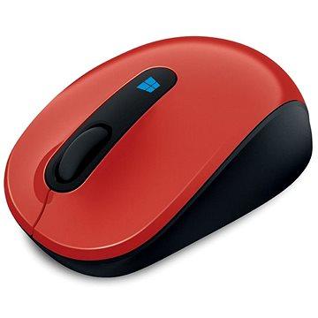 Microsoft Sculpt Mobile Mouse Wireless, červená (43U-00025)