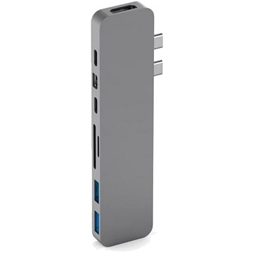 HyperDrive PRO USB-C Hub pro MacBook Pro - Space Gray (HY-GN28D-GRAY)