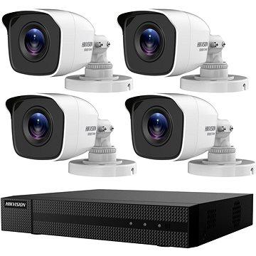 HikVision HiWatch HWK-T4142BH-MP, KIT, 2MP, rekordér + 4 kamery, 4ch, 1TB HDD (104891)