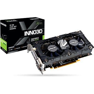 Inno3D GeForce GTX 1070 TwinX2 V4 (N1070-4SDV-P5DS)