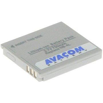 AVACOM za Canon NB-4L Li-ion 3.7V 750mAh (DICA-NB4L-532) + ZDARMA Baterie AVACOM Ultra Alkaline AA 4ks v blistru