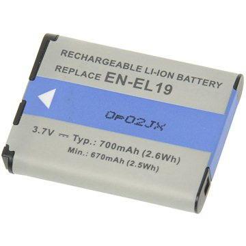 AVACOM za Nikon EN-EL19 Li-ion 3.7V 620mAh 2.3Wh (DINI-EL19-354)