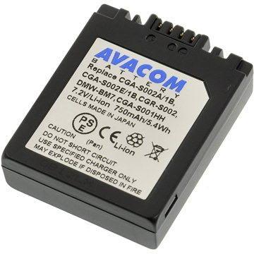 AVACOM za Panasonic CGA-S002 , DMW-BM7 Li-ion 7.2V 750mAh (DIPA-S002-532)