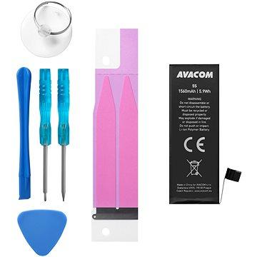 Avacom pro Apple iPhone 5s / 5c, Li-Ion 3.8V 1560mAh (náhrada 616-0718) (GSAP-IPH5S-1560)