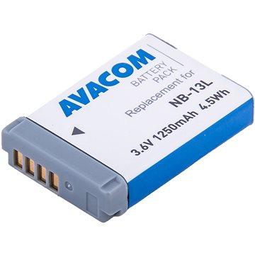 AVACOM za Canon NB-13L Li-Ion 3.6V 1250mAh 4.5Wh AVA (DICA-NB13-J1250)