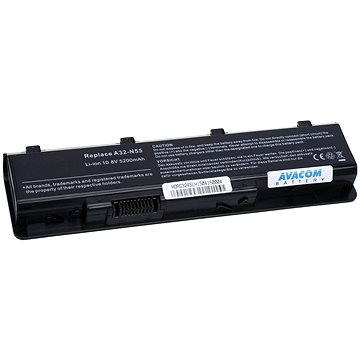 AVACOM pro Asus N55, N45, N75 series Li-ion 11,1V 5200mAh/58Wh (NOAS-N55-S26)