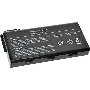 AVACOM pro MSI MegaBook CR500/CR600/CX600 Li-ion 10.8V 7800mAh/84Wh BTY-L74 (NOMS-CR60H-S26)