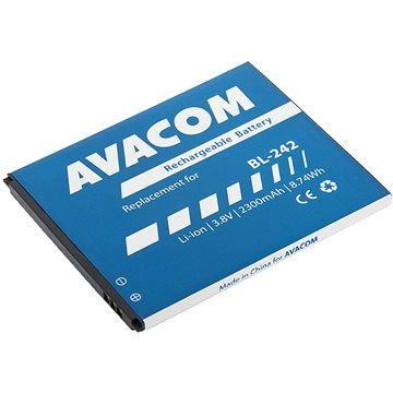 AVACOM pro Lenovo A6000 Li-Ion 3.8V 2300mAh (náhrada BL242) (GSLE-BL242-2300)