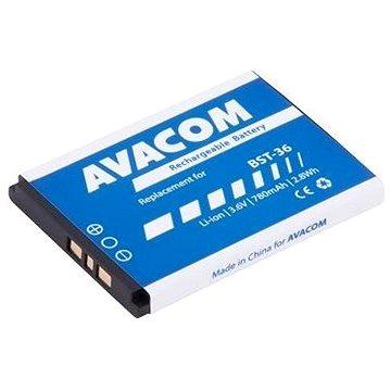 Avacom pro Sony Ericsson J300, W200 Li-Ion 3,7V 780mAh (náhrada BST-36) (GSSE-J300-S780)