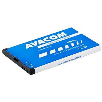 AVACOM pro Nokia E55, E52, E90, Li-Ion 3,7V 1500mAh (náhrada BP-4L) (GSNO-BP4L-S1500Aa)