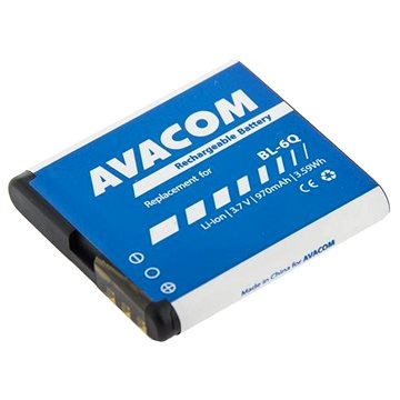 AVACOM pre Nokia 6700 Classic Li-Ion 3,7 V 970 mAh (náhrada BL-6Q)(GSNO-BL6Q-S970)