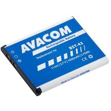 AVACOM pro Sony Ericsson U100, Elm Li-Ion 3,7V 1000mAh (náhrada BST-43) (GSSE-U100-S1000A)