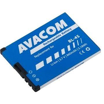 AVACOM pro Nokia 3600 Slide, 2680 Li-Ion 3,7V 860mAh (náhrada BL-4S) (GSNO-BL4S-S860)