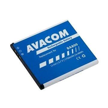 AVACOM pre Sony Ericsson Li-Ion 3,7 V 1750 mAh (náhrada BA800)(GSSO-BA800-S1750)