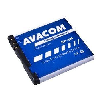 AVACOM pro Nokia N81, 6500 Slide Li-Ion 3,7V 950mAh (náhrada BP-5M) (GSNO-BP5M-S950A)