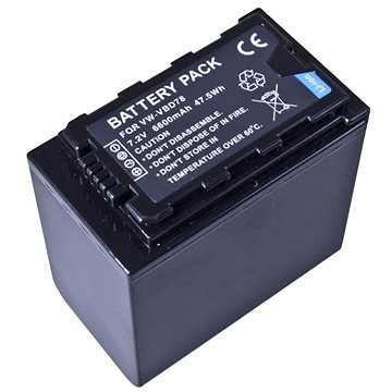 AVACOM za Panasonic VW-VBD29, VW-VBD78 Li-Ion 7.2V 6600mAh 47.5Wh (VIPA-BD29-083)