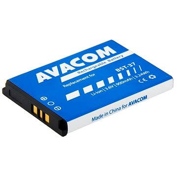 AVACOM pro Sony Ericsson K750, W800 Li-Ion 3.7V 900mAh, (náhrada BST-37) (GSSE-K750-900)