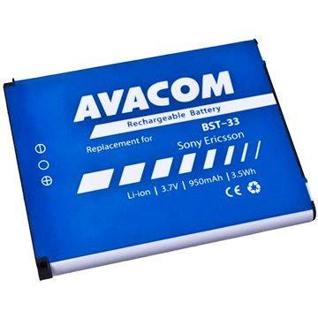 AVACOM pro Sony Ericsson K800i, W900i Li-Ion 3.7V 950mAh (náhrada BST-33) (GSSE-W900-S950)
