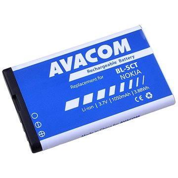 AVACOM pro Nokia 6303, 6730, C5, Li-Ion 3.7V 1050mAh (náhrada BL-5CT) (GSNO-BL5CT-S1050A)