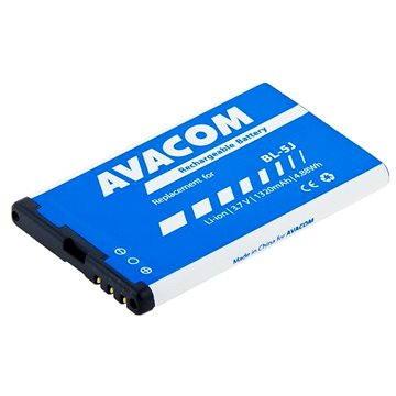 AVACOM pro Nokia 5230, 5800, X6 Li-Ion 3.7V 1320mAh (náhrada za BL-5J) (GSNO-BL5J-S1320)