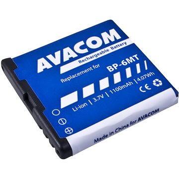 AVACOM za Nokia E51, N81, N81 8GB, N82, Li-ion 3.6V 1100mAh (náhrada BP-6MT) (GSNO-BP6MT-S1100A) + ZDARMA Baterie AVACOM Ultra Alkaline AA 4ks v blistru