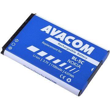 AVACOM za Nokia 6230, N70, Li-ion 3.7V 1100mAh (náhrada BL-5C) (GSNO-BL5C-S1100A)